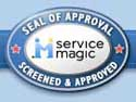 Service Magic Seal of Approval - Screened & Approved